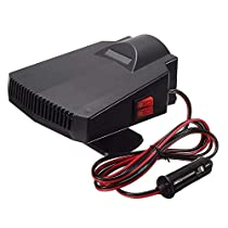 12V Car Heating Fan Vehicle Heater Defroster Demister Mute Fan