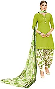 Real Fashion Ready Wear Four Different Colored Leone Fabric Stylish Punjabi Salwar Suit