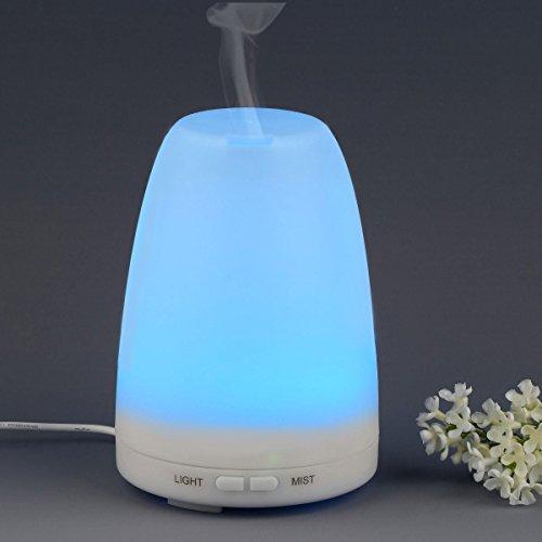 SHOKK Aroma Diffuser Duftöldiffusor Aromatherapie 100ml Ätherische Öl Ultraschall Luftbefeuchter Humidifier
