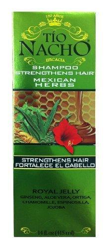 Tio Nacho Herbolaria Mexicana   Mexican Herbs Shampoo - 14 fl Oz (Pack of 2) by Tio Nacho