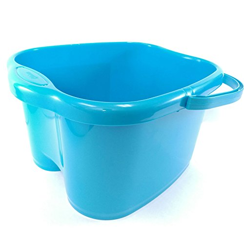Foot Soak Tubs - Ohisu Blue Foot Basin for Foot Bath, Soak, or Detox