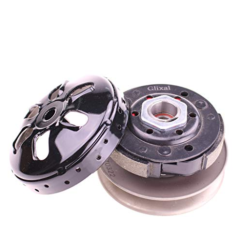 Glixal High Performance Racing Clutch Assy with Clutch Bell for GY6 49cc 50cc 139QMA 139QMB Engine Scooter Moped ATV Go-Kart