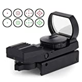 AceZone Reflex Sight Red Green Dot Airsoft Optic Holographic Tactical Riflescope 4 Reticles With 20mm Mount...