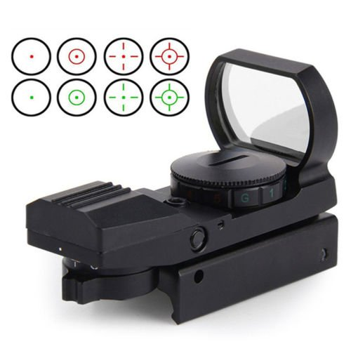 AceZone Airsoft Optic Red Green Dot Sight Reflex Holographic