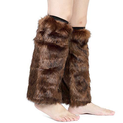 Barelove Womens Costume Sexy Faux Fur Warm Fuzzy