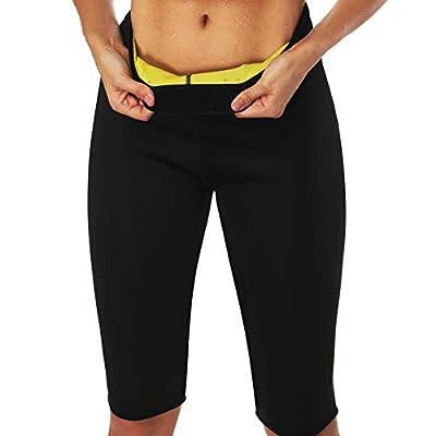 Cimkiz Women's Neoprene hot Sweat Slimming Pants Weight Loss Sauna Shaper Capris
