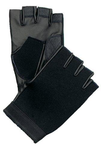 Black Fingerless Neoprene Gloves, (Black Fingerless Neoprene Gloves)