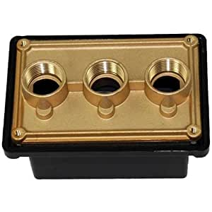Pentair 78310600 3 4 inch black junction box for Ukuran box salon 8 inch