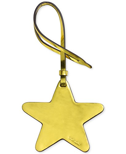 Coach Boxed Ornamental Bag Charm (Metallic Lemon Star, One Size) ()