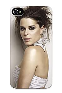 170d3d66044 Tpu Case Skin Protector For Iphone 4/4s Neve Campbell With Nice Appearance For Lovers Gifts