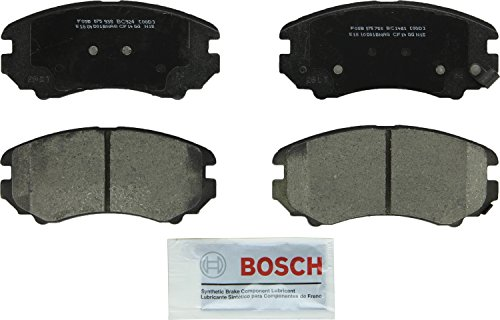 Bosch BC1421 QuietCast Premium Ceramic Front Disc Brake Pad Set