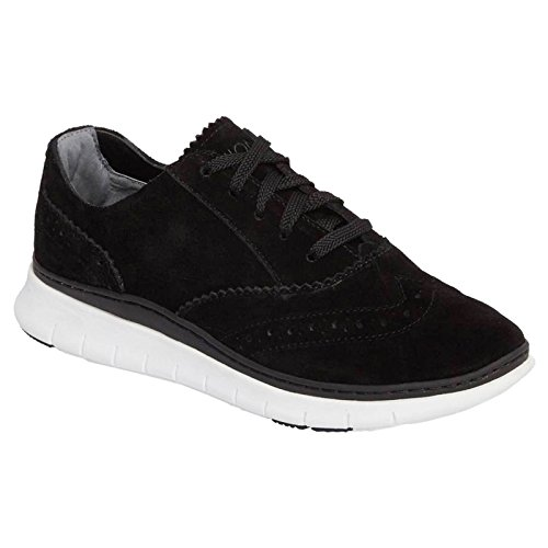 Vionic Womens 355 Kenley Fresh Suede Trainers Black