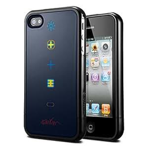 "SPIGEN SGP iPhone 4 / 4S Case Linear collaboration ""Karim Rashid"" Series [Harmony Black]"