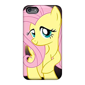 RobAmarook Apple Iphone 6 Plus Shockproof Cell-phone Hard Covers Custom High-definition Fluttershy Cartoons Image [LRv1593PuBy]
