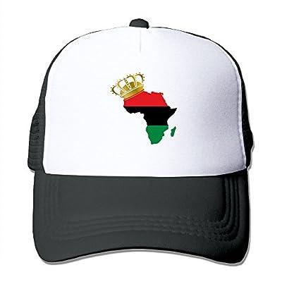 Men/Women African American Pride Mesh Snapback Hats Adjustable Baseball Hat