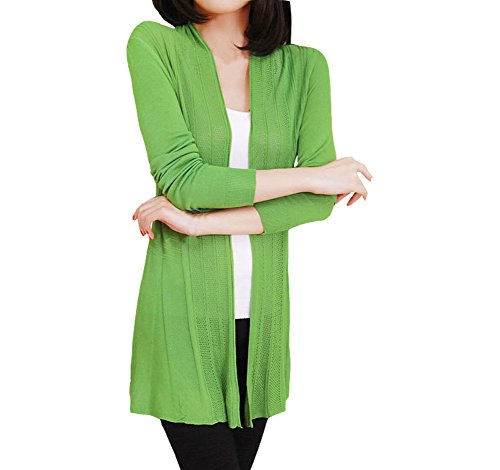 Shawhuaa Womens knitted Cardigan Sweater product image