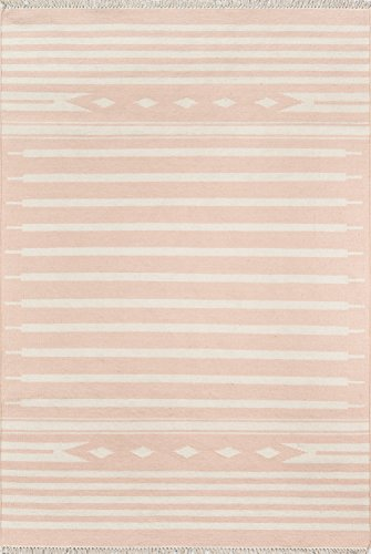 Erin Gates by Momeni Thompson Billings Pink Hand Woven Wool Area Rug 7'6