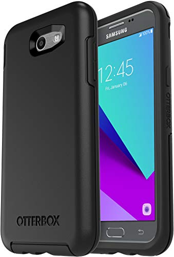 OtterBox SYMMETRY SERIES Case for Samsung Galaxy J3 (2017)/Galaxy Express Prime 2/Galaxy Amp Prime 2/ Galaxy Sol 2/Galaxy J3 Emerge/Galaxy J3 Prime/Galaxy J3 Luna Pro - Non-Retail Packaging - BLACK