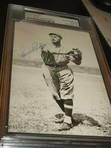 Sam Rice Autographed Signed Baseball Postcard Photo PSA Slabbed Washington Senators - Certified Signature from Sports Collectibles Online