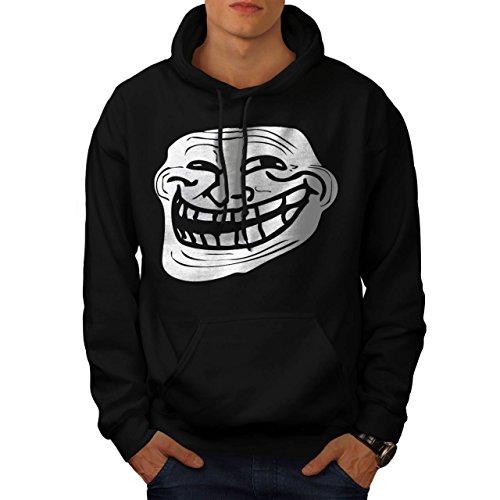 Trollface Troll Meme Men NEW S Hoodie | Wellcoda