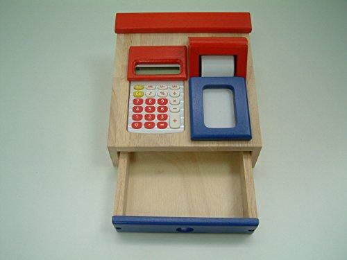 Santoys Register Calculator Pretend Wooden product image