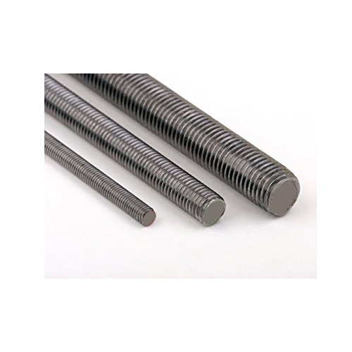 M3 A2 studding Stainless steel - 1 meter lengths Pack Size : 2 Generic