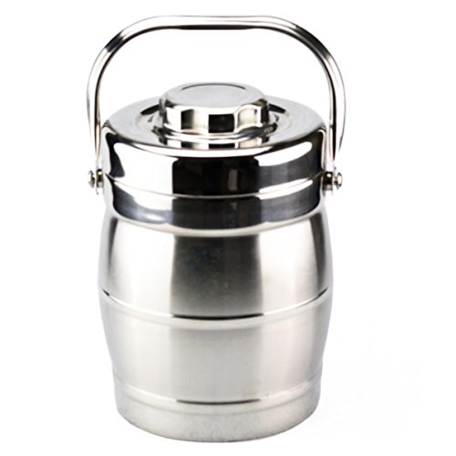 2 Quarts Vaccum Insulated Lunch Box Stainless Steel Double Wall Thermal Food Jar Hot or Cold