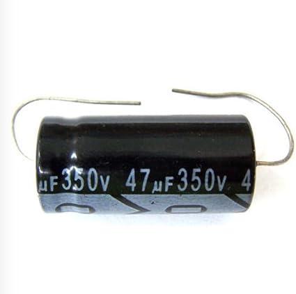 F/&T Electrolytic capacitors 100uf @ 350 volt axial capacitor tube amp caps