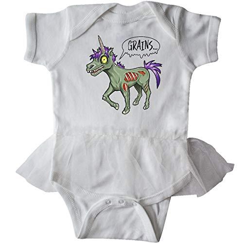 inktastic - Zombie Unicorns Wants Infant Tutu Bodysuit Newborn White 33196]()