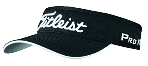 Titleist Pro V1 Hat (Titleist Low Profile Tour Visor 2016 (Black))