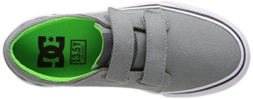 DCTrase V B - Sneakers para chico Grey (Grey/Black/Green)