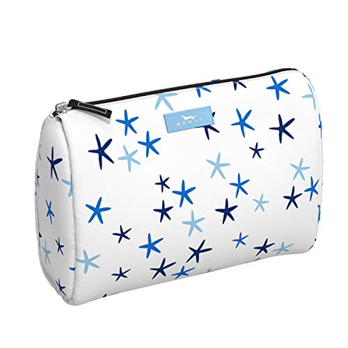 SCOUT PACKIN' HEAT Large Makeup Bag, Water-Resistant Toiletry and Makeup Pouch for Women with Zipper Closure (Multiple Patterns Available)