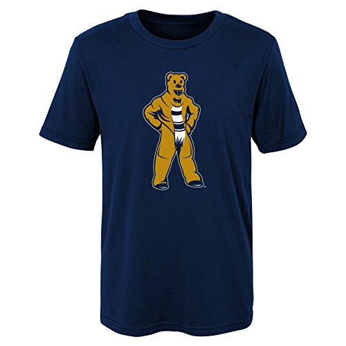 (NCAA Penn State Nittany Lions Kids Standing Mascot Tee, Kids Medium(5-6), Navy )
