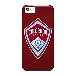 New Superface Super Strong Colorado Rapids Tpu Case Cover For Iphone 5c