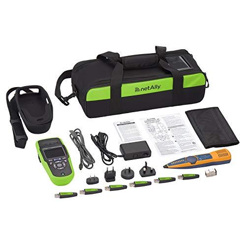 NetAlly LRAT-2000-KIT LinkRunner AT & IntelliTone Pro Copper Fiber Ethernet Network Test Kit