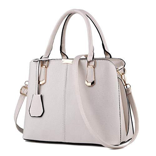Casual Pu Totes Messenger Shoulder Female Bags Bags qingqinghebiao Ladies Leather Beige Handbags Women Wqv8nPpT