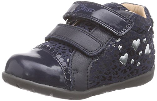 Geox B Kaytan Girl 21 First Walker (Infant/Toddler) - Dar...