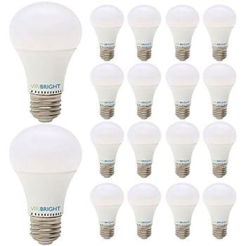 60 Watt Replacement A19 Led Light Bulb 18 Pack Cool