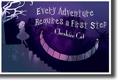 ultimate Poster Every Adventure Requires a First Step .New Motivational Classroom Poster 12x18 inch Rolled