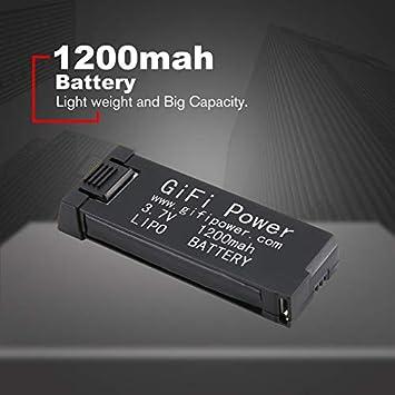 creatspaceES 3.7V 1200mah Batería de Gran Capacidad Reemplazo ...