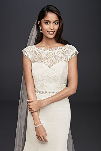 Illusion-Lace-and-Satin-Mermaid-Wedding-Dress-Style-WG3855