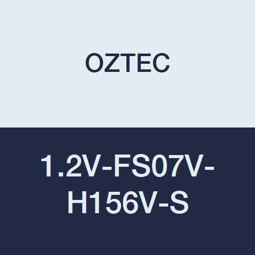 OZTEC 1.2V-FS07V-H156V-S Viber Type Concrete Vibrator AC//DC 1 Phase 7 Flexible Shaft 1-9//16 Steel Head 9 Amp Motor