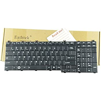 Amazon.com: Eathtek Replacement Keyboard for Toshiba Satellite L505