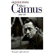 ALBERT CAMUS UNE VIE