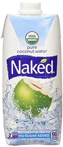 Naked Juice 100% Pure Organic Coconut Water, 16.9 oz by NAKED JUICE