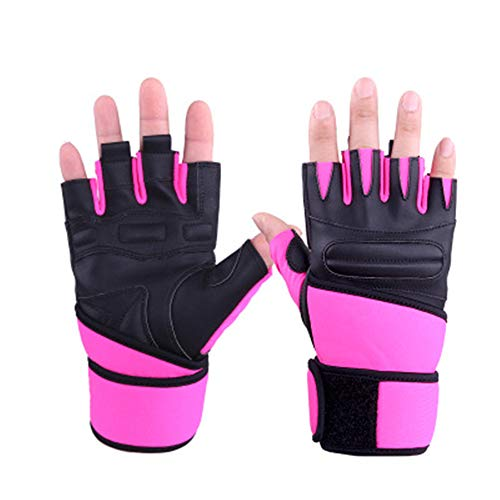 MINIKATA Cycling Gloves, Non-Slip Ultrathin Children Half Finger Bicycle Cycling Breathable Gloves Roller-Skating Gloves for Fishing, Cycling, Roller Skating and Climbing in Summer (Purple/L)