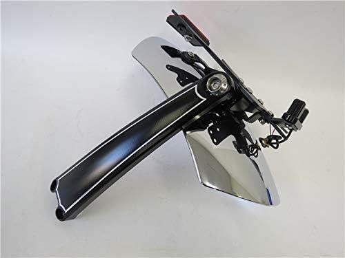 K-racing Rear Fender Bracket Mudguard License Plate For BMW R NINET R9T 13-18 black
