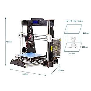 3D Printer A8 DIY 3D Printers Kit from ZR-Printing