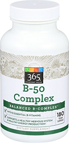 365 Everyday Value, B – 50 Complex, 180 ct