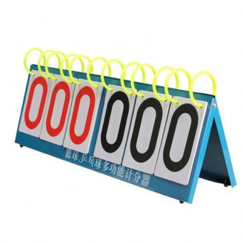 Dealglad® Multi deportes Seis dígitos Funda de marcador para Concurso de Conocimiento Baloncesto DealgladUK